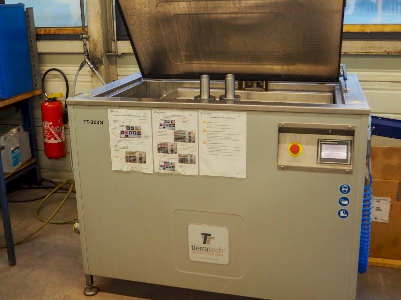 Nos sites de PEPIN et CASSET accueillent des machines de lavage à ultrason TIERRATECH